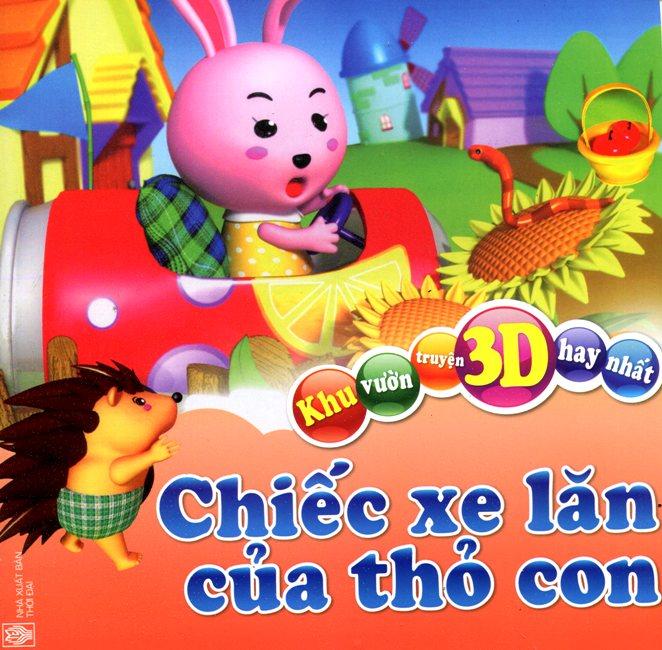 Ebook/PDF/PRC Khu Vườn Truyện 3D Hay Nhất - Chiếc Xe Lăn Của Thỏ Con
