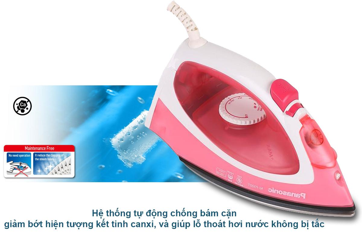 Bàn Ủi Hơi Nước Panasonic PABU-NI-P300TRRA
