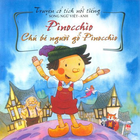 Truyện Cổ Tích Nổi Tiếng (Song Ngữ Việt Anh) - Chú Bé Người Gỗ Pinocchio (Tái Bản 2014) - 8935036688675,62_123195,22000,tiki.vn,Truyen-Co-Tich-Noi-Tieng-Song-Ngu-Viet-Anh-Chu-Be-Nguoi-Go-Pinocchio-Tai-Ban-2014-62_123195,Truyện Cổ Tích Nổi Tiếng (Song Ngữ Việt Anh) - Chú Bé Người Gỗ Pinocchio (Tái Bản 2014)