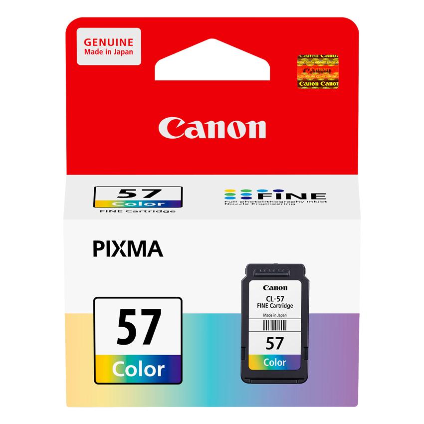 Mực In Canon CL-57 Cho Máy In Canon Pixma E400, E410, E460, E480 - Hàng Chính Hãng
