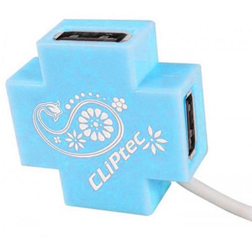 Hub USB 4 Port Cliptec RZH209 - Hàng chính hãng