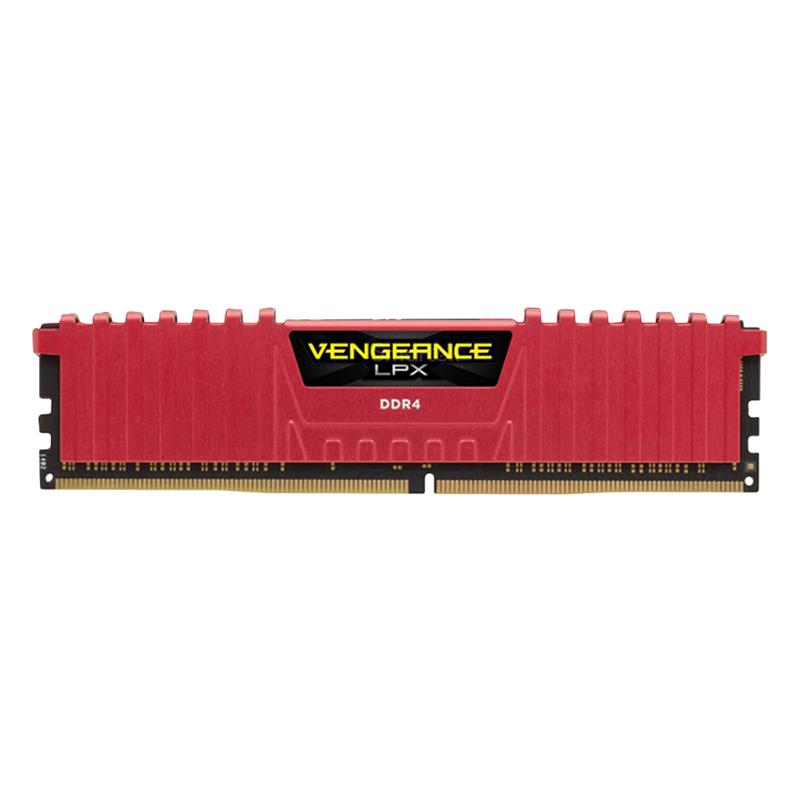RAM Corsair Vengeance LPX (2 x 8GB) 16GB DDR4 2400 C14 RED - CMK16GX4M2A2400C14R - Hàng Chính Hãng