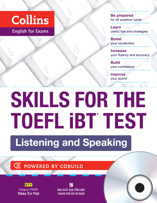 Collins Skills For The TOEFL iBT Test - Listening And Speaking Kèm CD