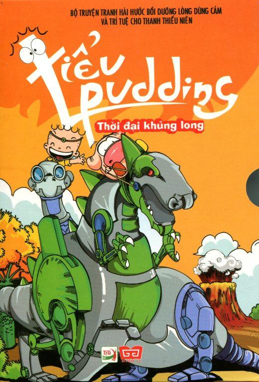 Combo Tiểu Pudding - Thời Đại Khủng Long (Trọn Bộ 4 Tập)