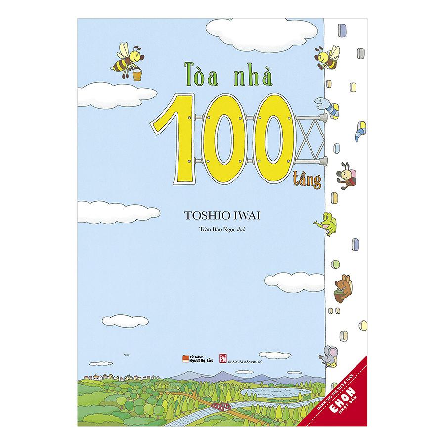 Combo Ehon Nhật Bản Tòa Nhà 100 Tầng: Dành Cho Trẻ Từ 3 - 8 Tuổi