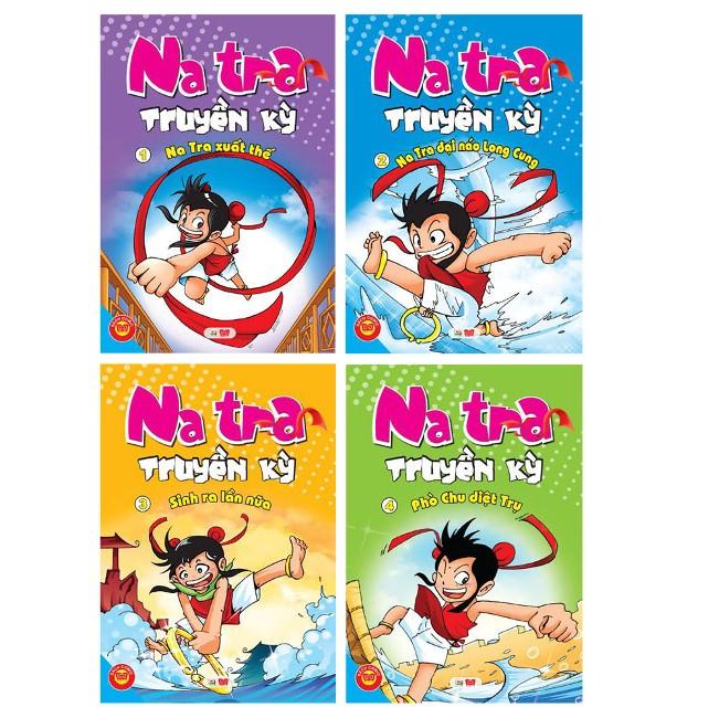 Khuyên đọc sách Combo Natra Truyền Kỳ (Trọn Bộ 4 Cuốn)
