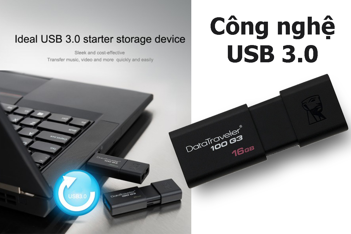 USB Kingston DT100G3 16GB - USB 3.0