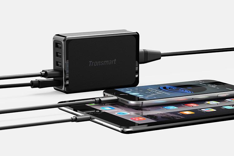 Adapter Sạc Tronsmart 54W 5 Cổng QC 3.0 U5PTA - Hàng Chính Hãng