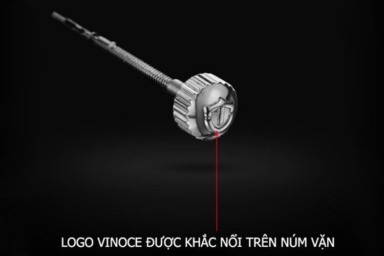 Đồng Hồ Nam Dây Da VINOCE CH411 L12 - 1A7V (40mm) - Nâu