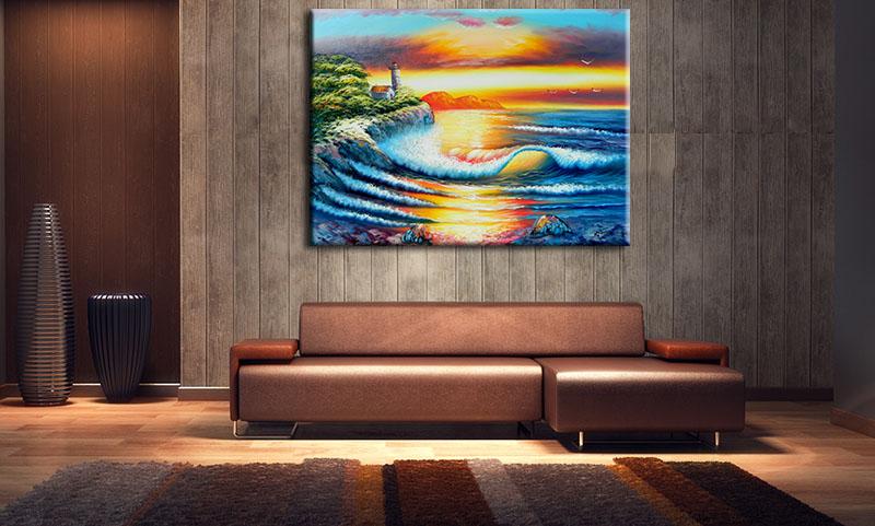 Tranh Treo Tường Canvas Suemall CV140805