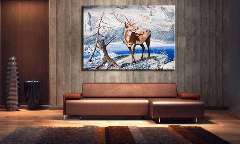 Tranh Treo Tường Canvas Suemall CV140812
