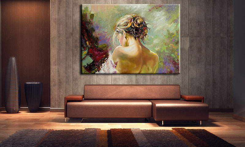 Tranh Treo Tường Canvas Suemall CV140814