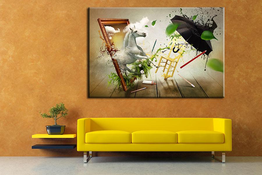 Tranh Treo Tường Canvas Suemall CV140825