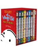 Diary Of A Wimpy Kid Box Of Books. Volumes 1 - 7