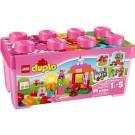 Mô Hình LEGO Thùng Gạch Hồng DUPLO Vui Nhộn - 10571