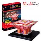 Mô Hình Giấy Cubic Fun: China Pavilion [L506h] (Đèn LED)