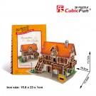 Mô Hình Giấy Cubic Fun: Art Studio [W3125h]