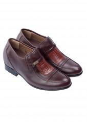 Giày Tăng Chiều Cao KENT K34712 - 7cm - Nâu