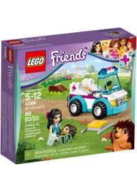 Mô Hình LEGO Friends - Xe Cấp Cứu Thú Nuôi 41086