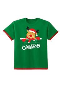 Áo Giáng Sinh Kibu Trẻ Em  - Tuần Lộc - AL2