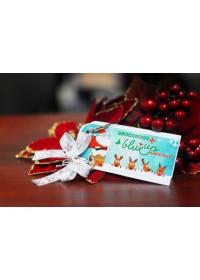 Flashcard Blueup Merry Christmas