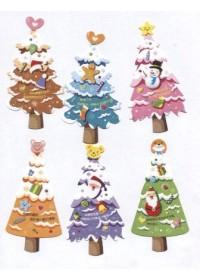 Bookmark Merry Christmas - Cây Thông Noel