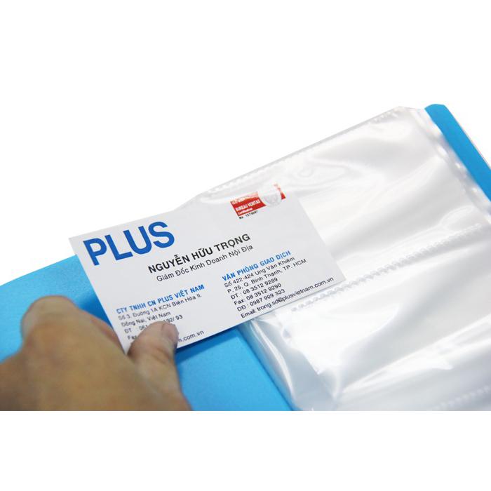 Sổ Đựng Namecard Plus A4-200P- 82-V280