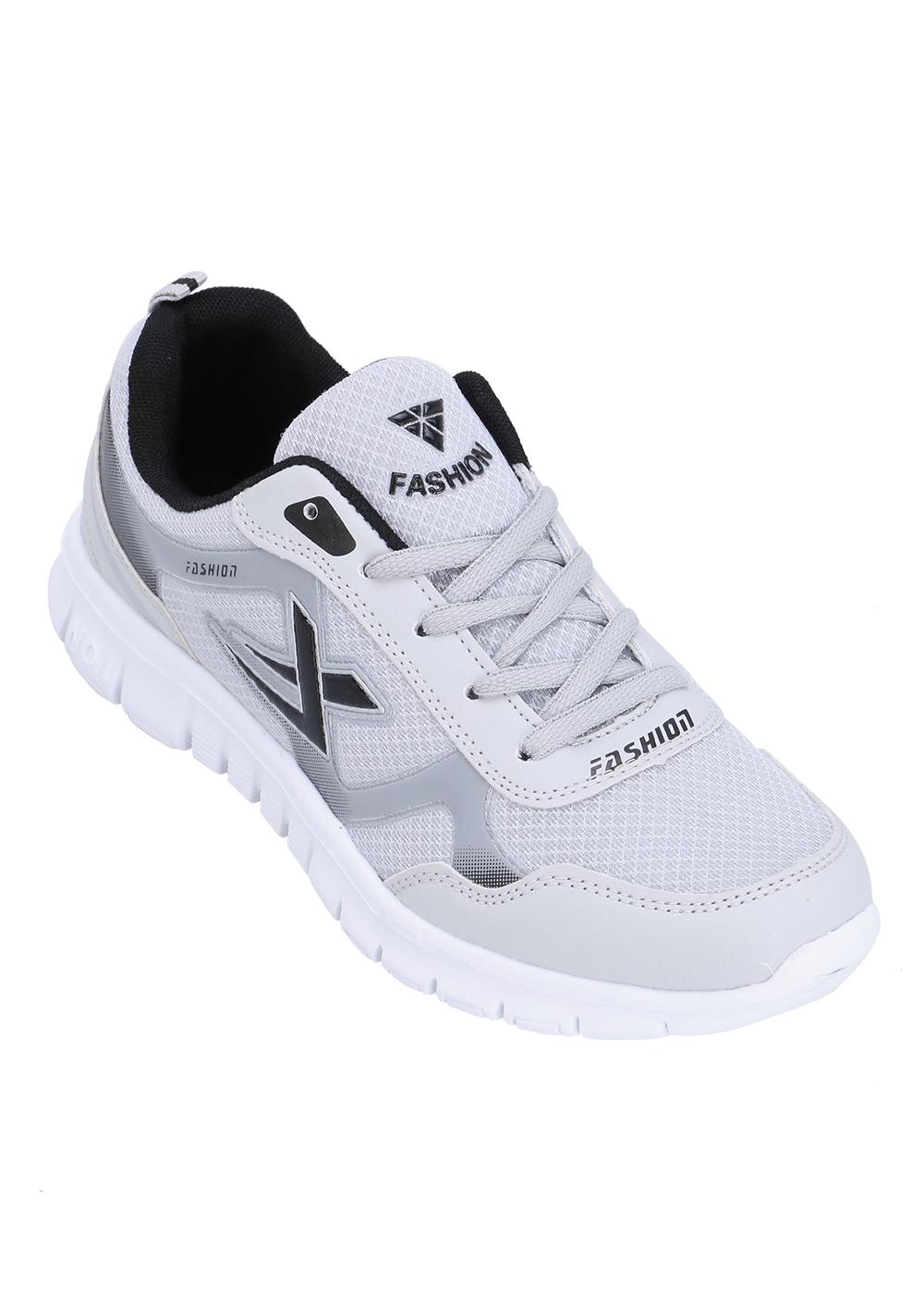 Giày Sneaker Nam POSA DCTK123 - Xám