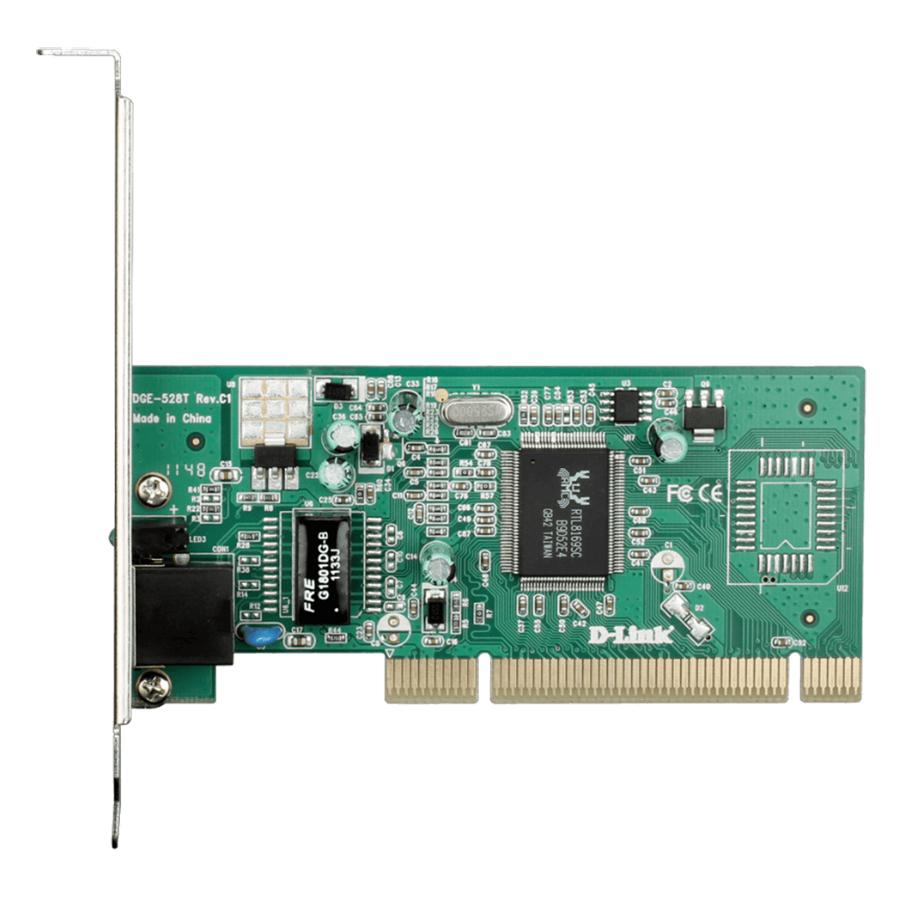 Card Mạng PCI 10/100/1000Mbps D-Link DGE-528T - Hàng Chính Hãng