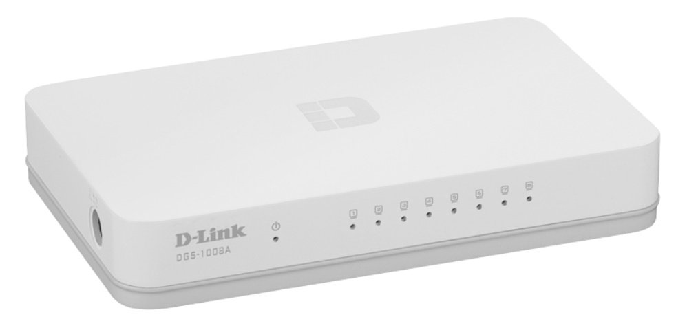 D-Link DGS-1008A - Switch 8 Cổng 10/100/1000M