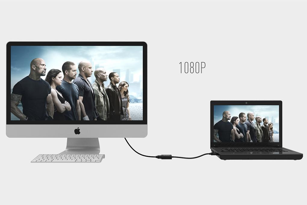 Bộ Chuyển HDMI Sang VGA Orico DHTV-C20 - Hàng Chính Hãng