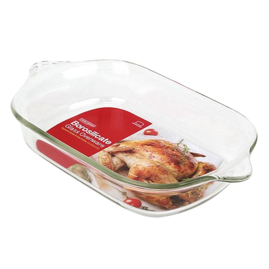 Đĩa Thủy Tinh Chịu Nhiệt Lock&Lock Glass Ovenware Pound Cake LLG581 (1.37 lít)