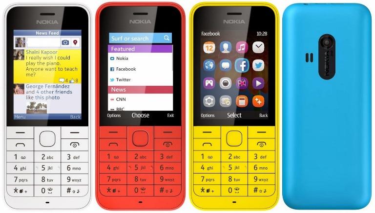 Nokia 220 điện thoại 2 sim 2 sóng thiết kế trẻ trung