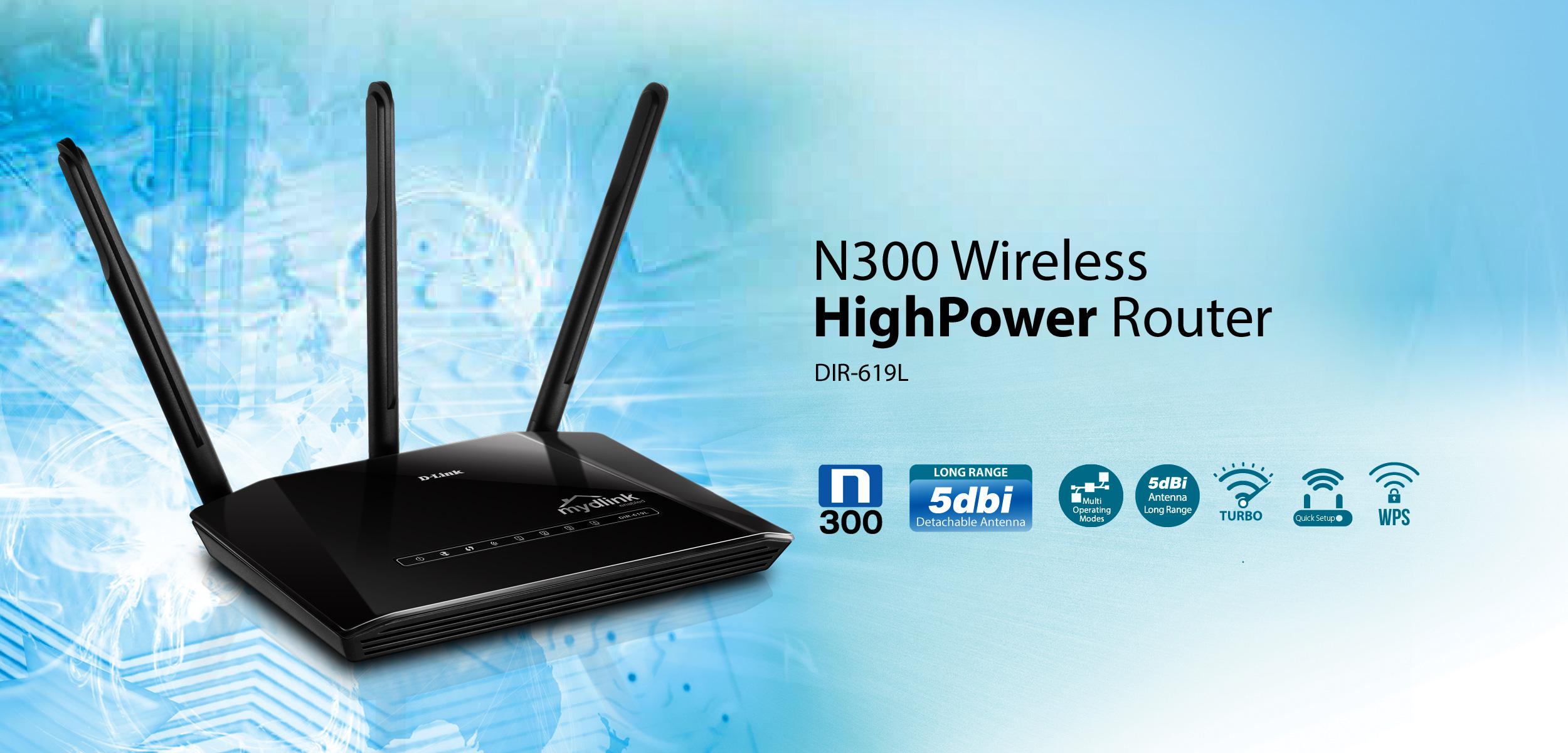 D-Link DIR-619L - Thiết Bị Phát Sóng Wifi