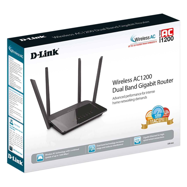 D-Link DIR-842 - Bộ Phát Sóng Wifi Băng Tần Kép AC1200 - Hàng Chính Hãng
