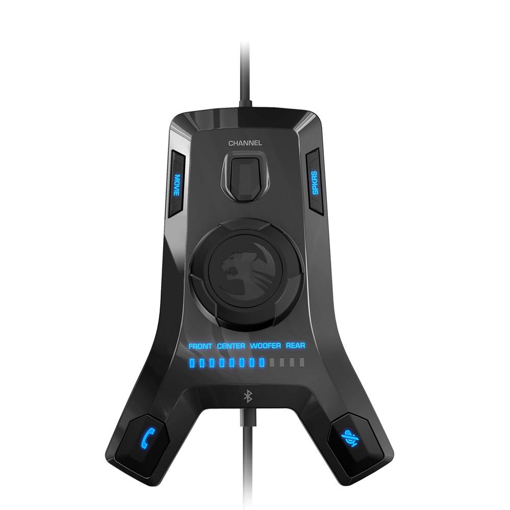 Tai Nghe Gaming Chụp Tai Roccat Kave XTD 5.1 Digital - Hàng Chính Hãng