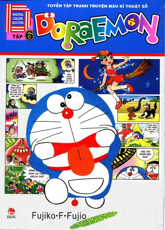 Doraemon Truyện Tranh Màu Kỹ Thuật Số (Tập 6)