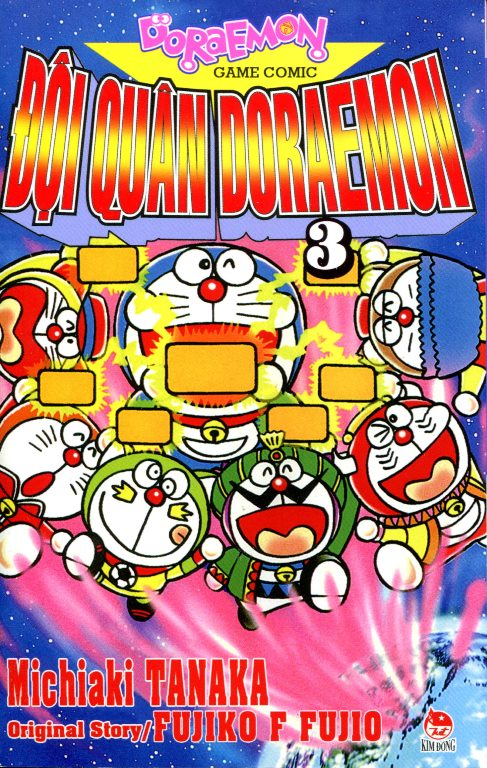 Đội Quân Doraemon (Tập 3)