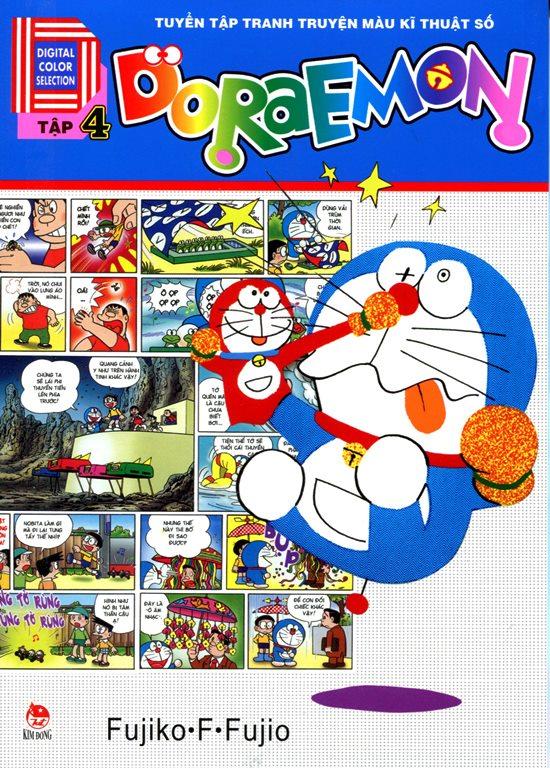 Doraemon Truyện Tranh Màu Kỹ Thuật Số (Tập 4)