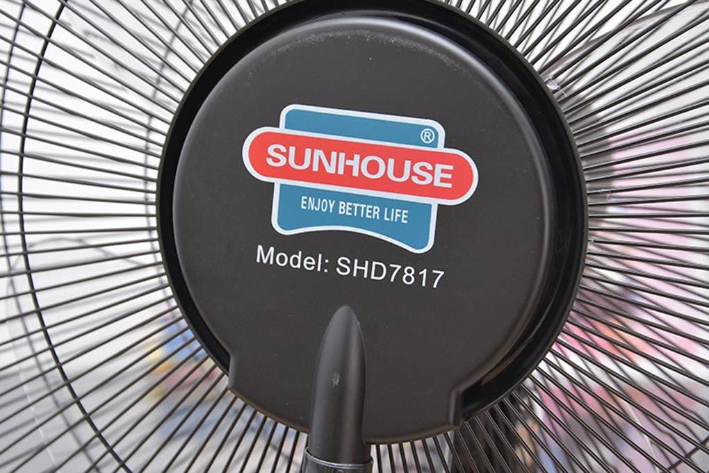 Quạt Phun Sương Sunhouse SHD7817 - Đỏ Đen