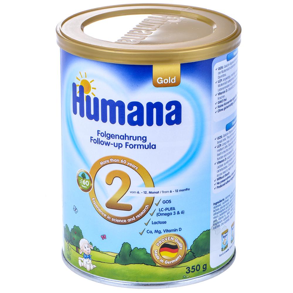 Sản Phẩm Dinh Dưỡng Humana Gold 2 Cho Bé 6 - 12 Tháng (800g)