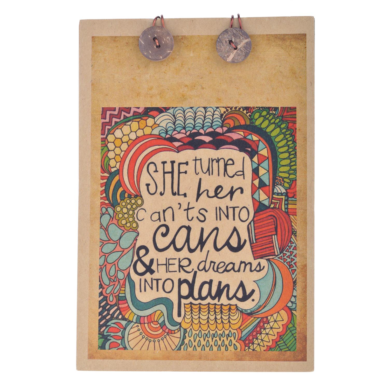 Sổ Tay Chó Đầu Xù - Her Dreams Into Plans