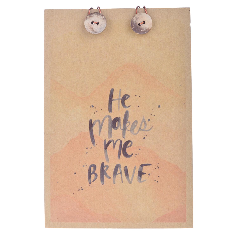 Sổ Tay Chó Đầu Xù - He Makes Me Brave