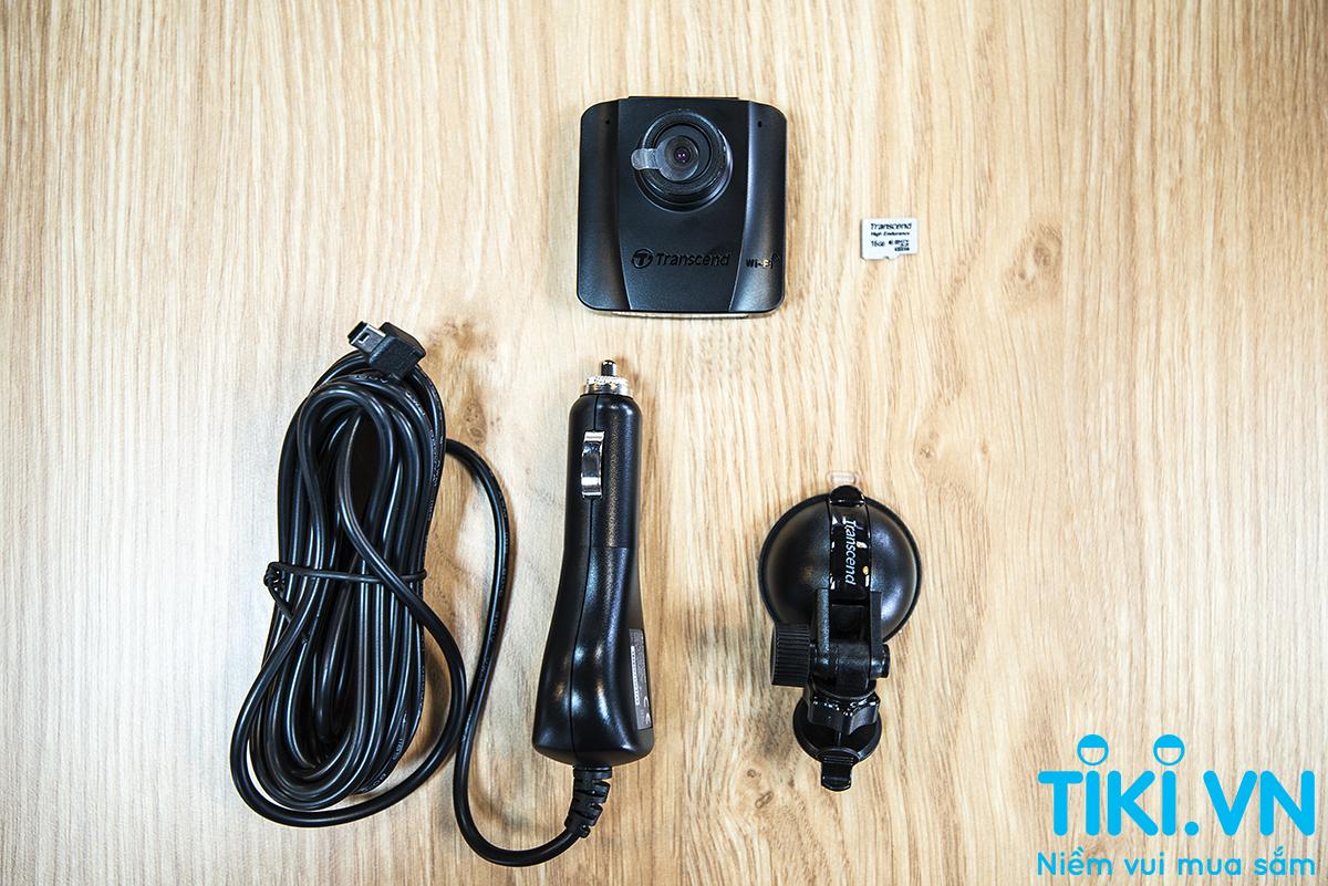 Camera Hành Trình Ô Tô Transcend Drive Pro 50 - Hàng Chính Hãng