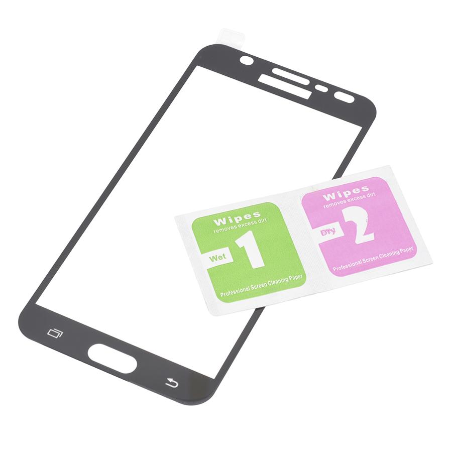 Miếng Dán Cường Lực Full Màn Hình Điện Thoại dành cho Samsung Galaxy J7 Prime (Đen)