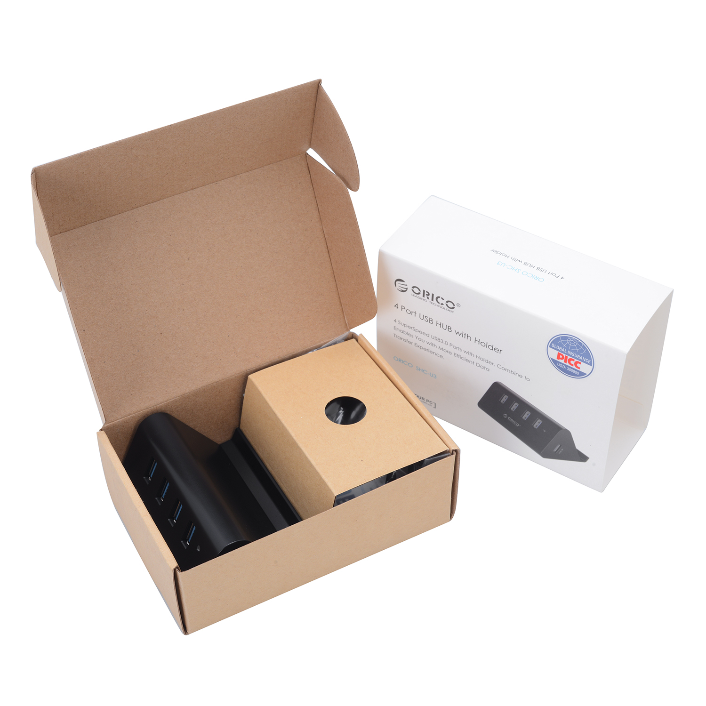 Hub USB 3.0 Orico 4 Cổng SHC-U3 - Hàng Chính Hãng