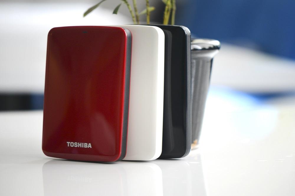Ổ Cứng Di Động Toshiba Canvio Connect 1TB - USB 3.0