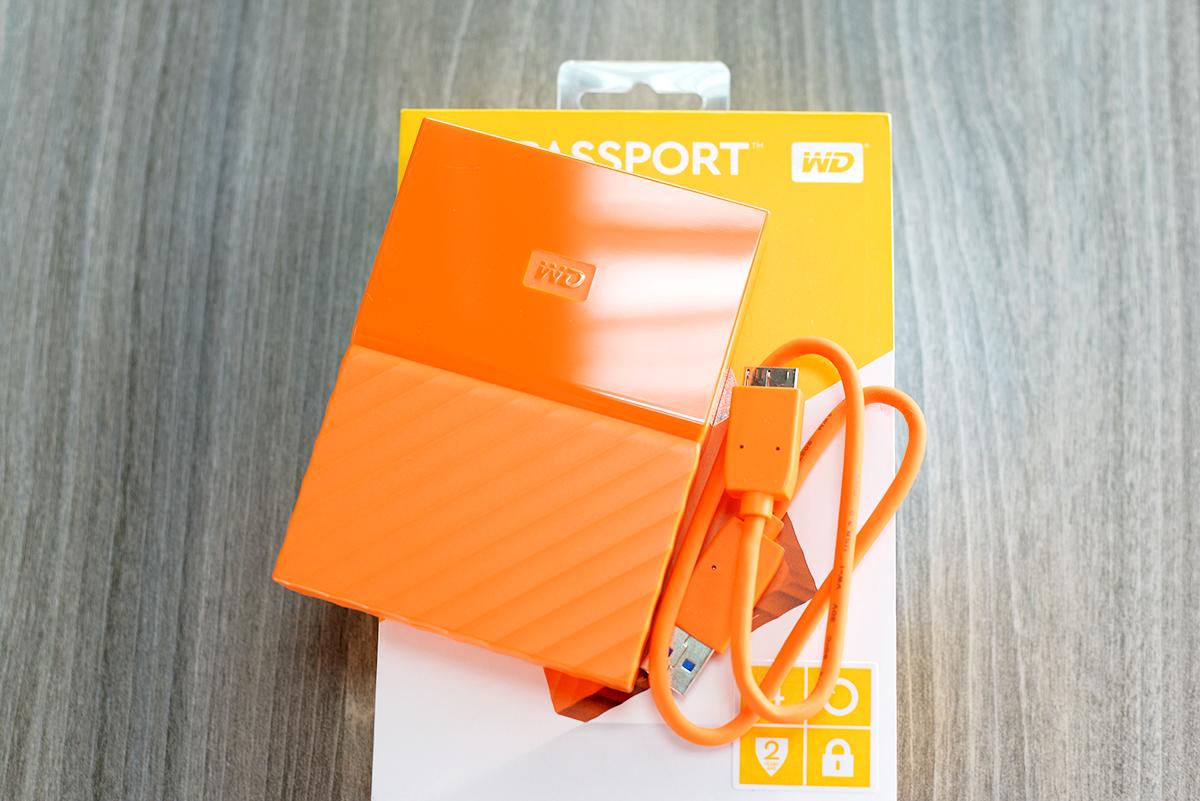 Ổ Cứng Di Động WD My Passport 3TB (ver 2016)