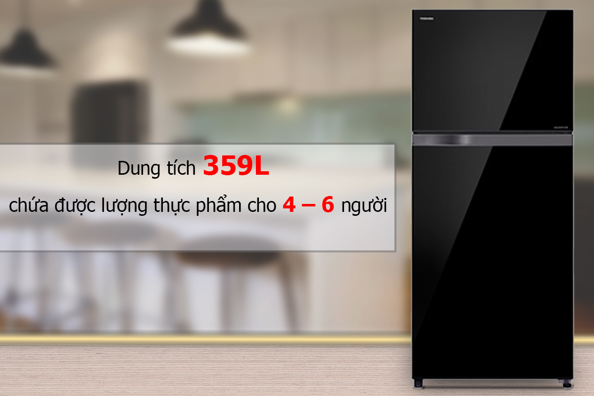 Tủ Lạnh Inverter Toshiba TG41VPDZ(XK) (359L)