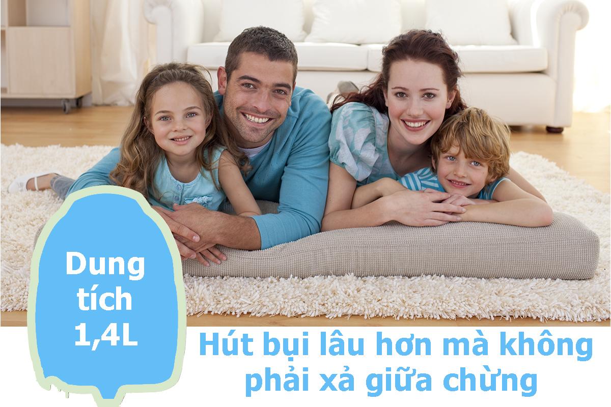 Máy Hút Bụi Panasonic PAHB-MC-CG331RN46